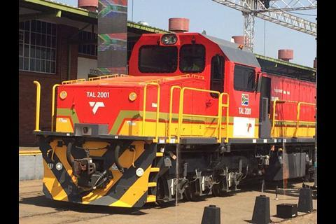 Loco 'designed, engineered and manufactured in Africa